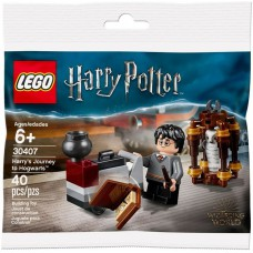 LEGO 30407 Harry Potter Harry's Reis naar Zweinstein