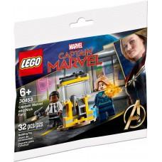 LEGO 30453 Captain Marvel en Nick Fury