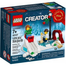 LEGO 40107 Creator Holiday Winter Skating Scene