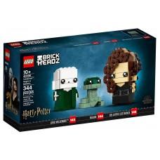 LEGO 40496  Brickheads Voldemort™, Nagini & Bellatrix Harry Potter