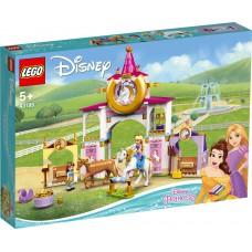 LEGO 43195 Disney Belle en Rapunzel's koninklijke paardenstal