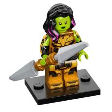 LEGO 71031-12 colmar - colmar 12 Gamora met het Mes  van Thanos Complete Set