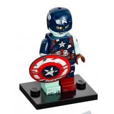 LEGO 71031-9 colmar-colmar 9 Zombie Captain America Complete Set
