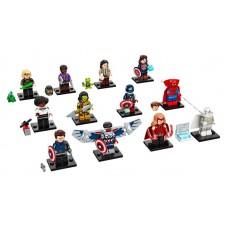 LEGO 71031 gehele LEGO Minifiguren Marvel Studios (12 stuks compleet inclusief accessoires )