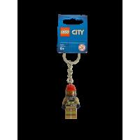 LEGO 853918 City brandweerman sleutelhanger