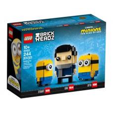 LEGO 40420 Minions BrickHeadz Gru, Stuart en Otto