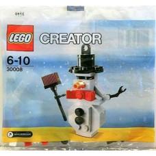 LEGO 30008 Sneeuwpop/Sneewman (Polybag - Zakje)