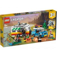 LEGO 31108 Familievakantie met caravan