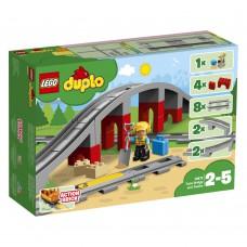 LEGO 10872 DUPLO Treinbrug en rails