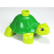 LEGO 30322 Duplo 98197pb01 Turtle with Green Back