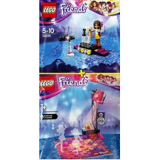 LEGO 30205 + 5002931 Pop Star Red Carpet & Disco Dance Floor (Polybags)