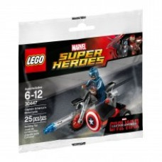 LEGO 30447 Captain America's Motorcycle GRATIS VERZENDING