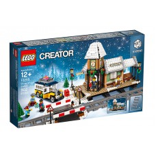 LEGO 10259 Winter Village Station kerst Plus de 30543 mini kersttrein set.
