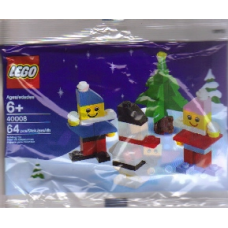 LEGO 40008 Holiday Christmas - Snowman  - Kerstman