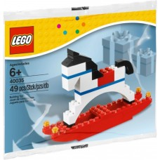 LEGO 40035 Seasonal Rocking Horse  Hobbelpaard