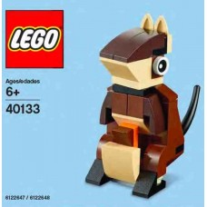 Lego 40133 Monthly Build Kangaroo MINI model Build 08-2015