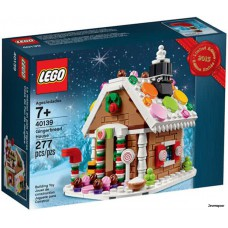 LEGO 40139 Gingerbread House Christmas (plus Gratis Artikel 30543)
