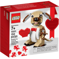 LEGO 40201 Valentijns cupidohond / Valentijn hond