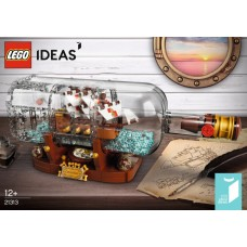 LEGO Ideas 21313 Schip in de fles
