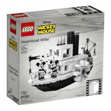 LEGO Ideas 21317 Stoomboot Willie
