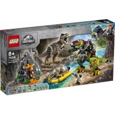 LEGO 75938 T. Rex vs. Dinomecha gevecht