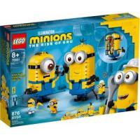 LEGO 75551 Minions Figuren van Stenen en hun Schuilplaats