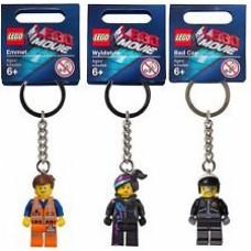 LEGO 850895 850896 850894 The Movie Sleutelhangers combi set (3) zie afbeelding