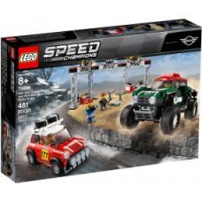 LEGO Speed 75894 Mini Cooper S Rally en MINI John Cooper Works Buggy