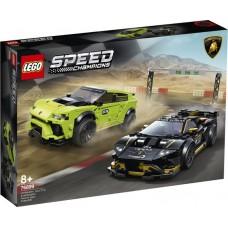 LEGO 76899 Lamborghini Huracán Super Trofeo EVO & Urus ST-X