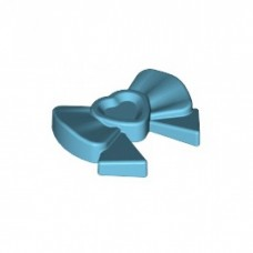 LEGO 11618 Medium Azure Friends Accessories Hair Decoration, Bow with Heart, Long Ribbon and Pin