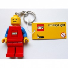 LEGO 12853 Blue/Red LED Key Light Minifig Key Chain