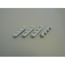 LEGO 14413 Light Bluish Gray Brick, Modified Facet 4 x 4