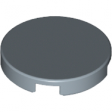 LEGO 14769 Light Bluish Gray Tile, Round 2 x 2 with Bottom Stud Holder