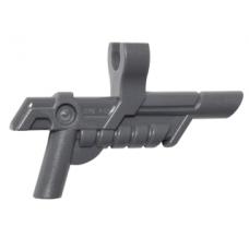 LEGO 15445 Dark Bluish Gray Minifigure, Weapon Gun, Blaster with Clip