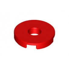 LEGO 15535 Red Tile, Round 2 x 2 with Hole