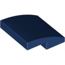 LEGO 15068 Slope, Curved 2 x 2 No Studs Dark Bleu (gebogen dakpan)