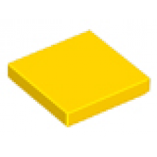 3068b Yellow Tile 2 x 2 with Groove