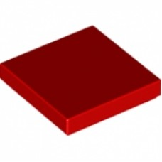 3068b Rood Tile 2 x 2 with Groove tegel