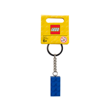 LEGO 850152 2 x 4 Brick - Blue Key Chain