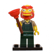 LEGO 71009 Colsim2-13 Groundskeeper Willie - Complete Set