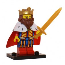 LEGO 71008 Col13-1 Classic King - Complete Set