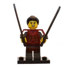 LEGO 71008 Col13-12 Samurai - Complete Set