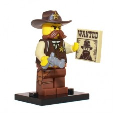 LEGO 71008 Col13-2 Sheriff - Complete Set