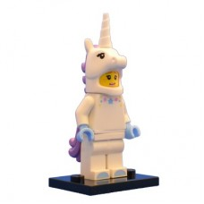 LEGO 71008 Col13-3 Unicorn Girl - Complete Set