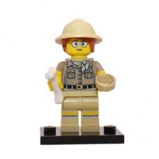 LEGO 71008 Col13-6 Paleontologist - Complete Set