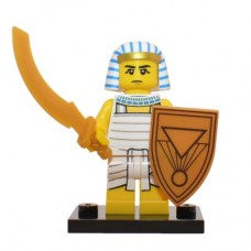 LEGO 71008 Col13-8 Egyptian Warrior - Complete Set
