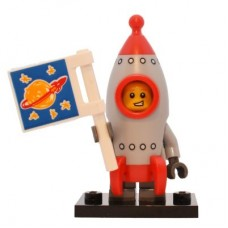 LEGO 71018 col17-13 Rocket Boy - Complete Set with Stand