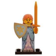 LEGO 71018 Col17-15 Elf Girl - Complete Set with Stand