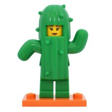 LEGO 71021 col18-11 Cactus Girl - Complete Set with Stand