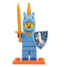 LEGO 71021 col18-17 Unicorn Guy - Complete Set with Stand